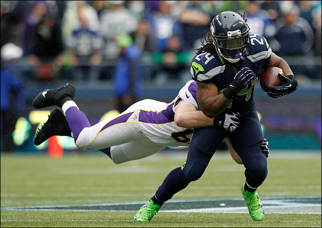 Seahawks use Lynch, strong finish to snap skid
