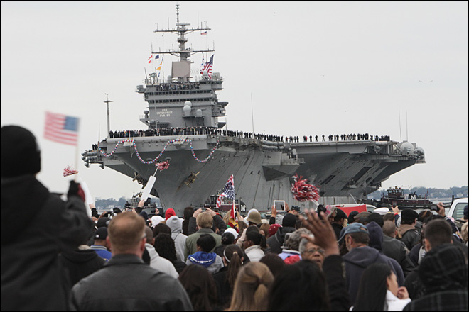 USS Enterprise completes its final voyage