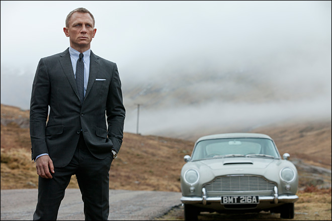 Bond soars with record $87.8 million 'Skyfall' debut