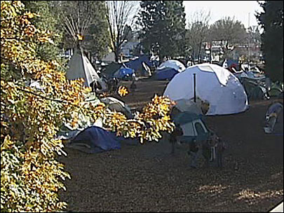 Could a homeless village work in Eugene?