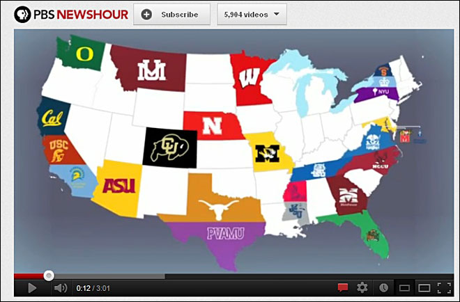 Does a Husky hating Duck fan work at PBS?