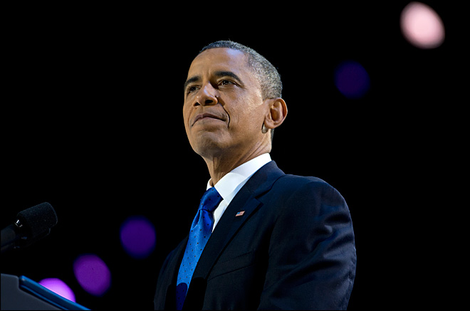 With second term, Obama now facing new urgent task