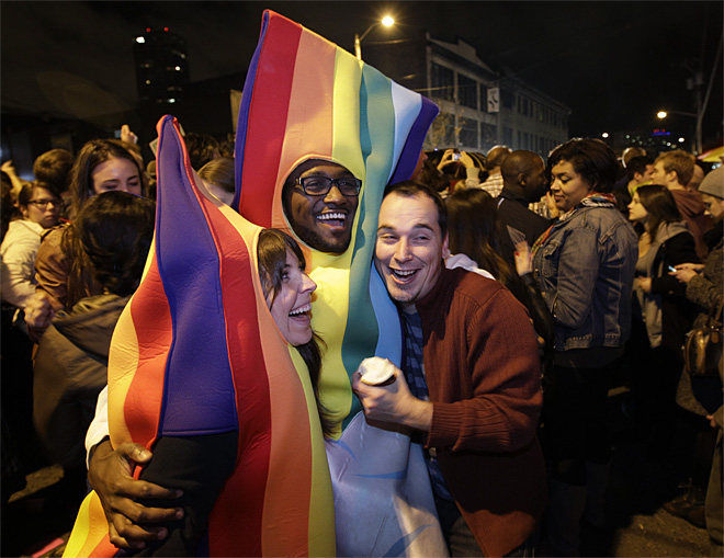 Wash. gay marriage law takes effect this week