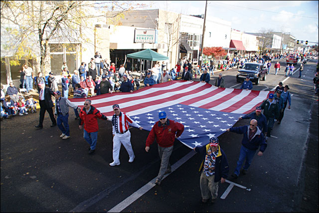 Albany hosts the West's largest Veterans Day parade Saturday