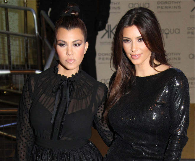 Kardashians bring clothing 'Kollection' to the UK