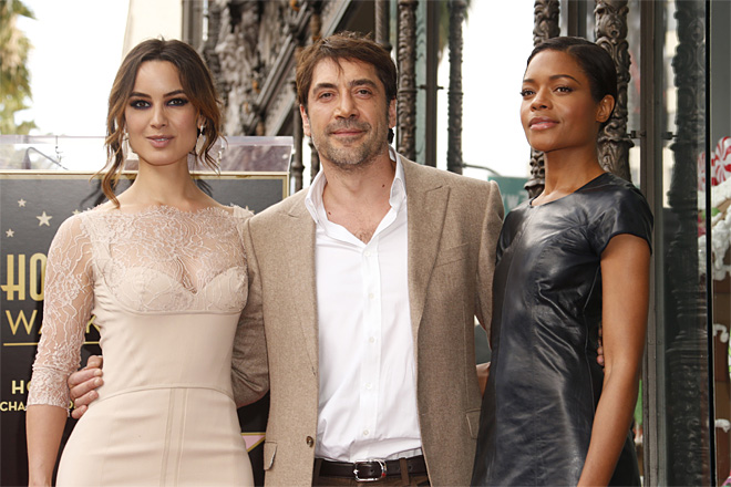 Javier Bardem Honored With A Star On The Hollywood Walk Of Fame