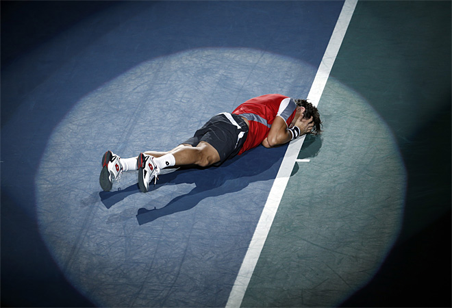 APTOPIX France Tennis Paris Masters