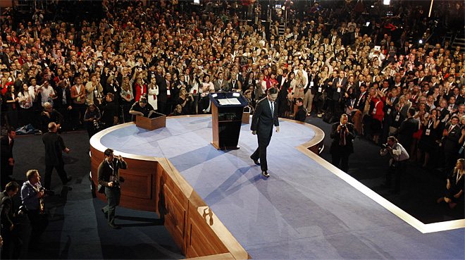 APTOPIX Romney 2012