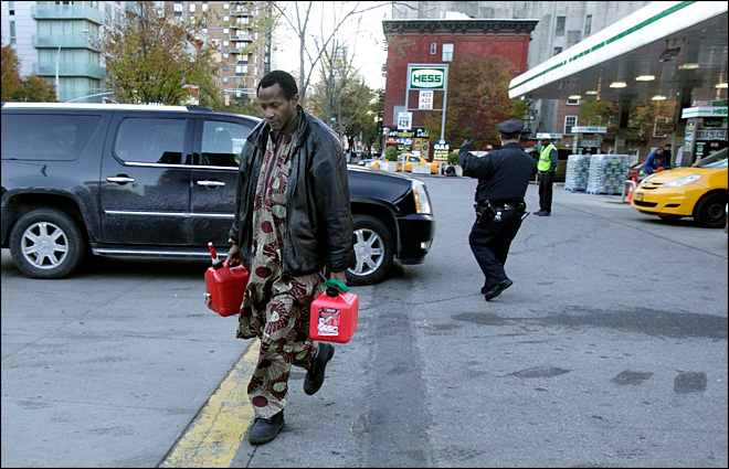 Gas rationing begins in NY as utility crews make progress