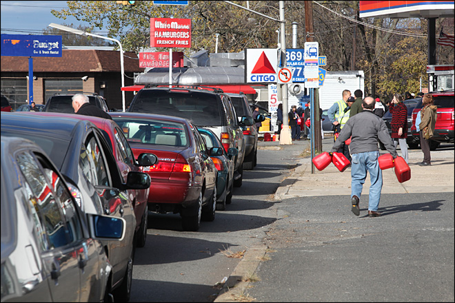 Gas rationing, shortage fray nerves in NYC