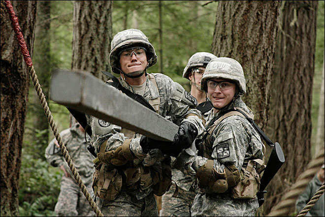 OSU unit hosts ROTC Ranger Challenge