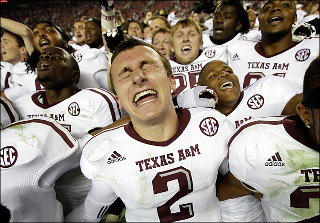 No. 15 Texas A&M stuns No. 1 Bama, 29-24
