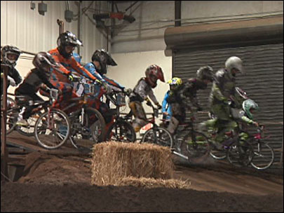 Emerald Valley BMX hits the track at the Lane Events Center