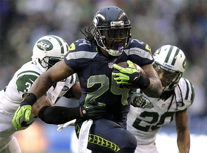 Marshawn Lynch still carries Seattle's offense
