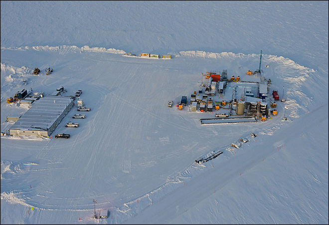 Alaska ice tested as possible new energy source