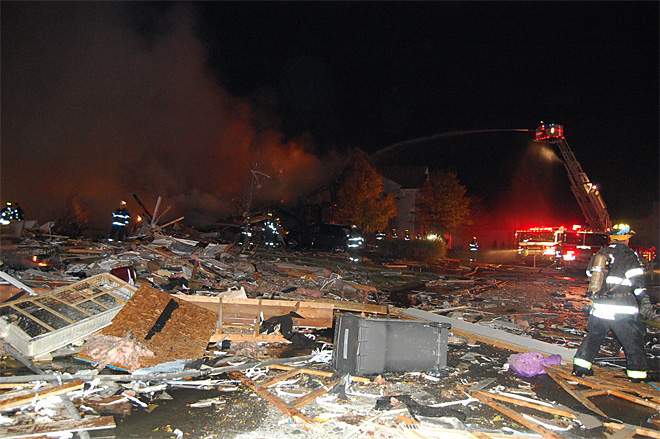 Indianapolis House Explosion
