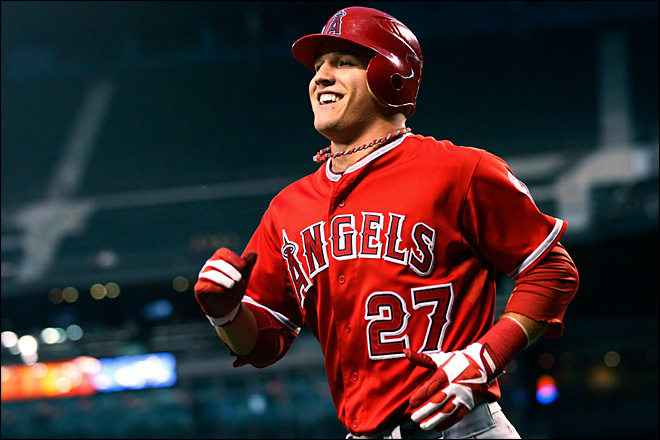 Trout, Harper voted Rookies of the Year