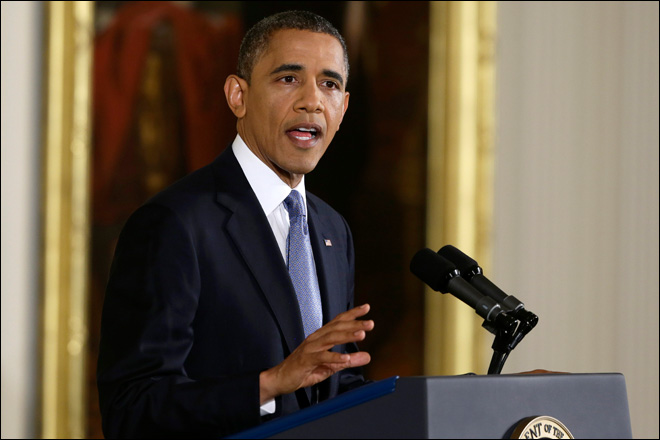 Obama warns against 'ramping up' in Gaza crisis
