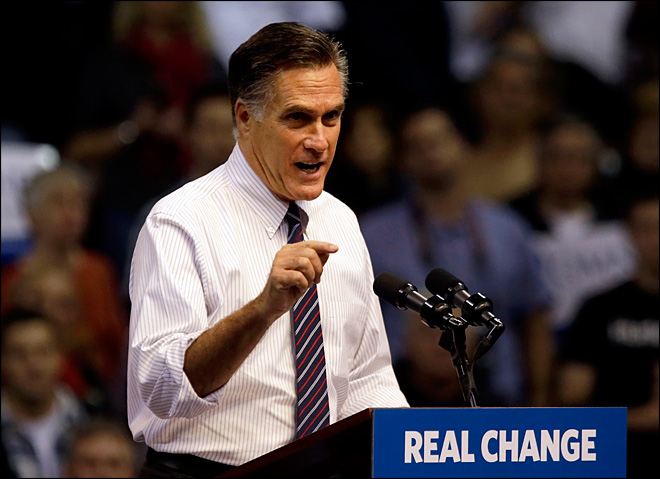 Romney: Obama won with 'gifts' to certain voters