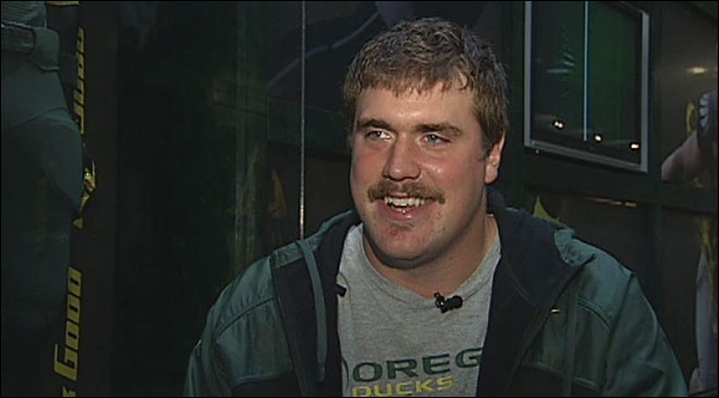 Nick Cody leads 'Movember' movement for Ducks