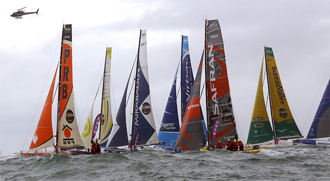 APTOPIX France Vendee Globe Race
