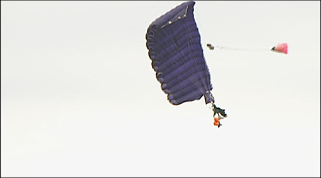 Skydiving Duck