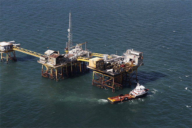 Gulf Rig Fire