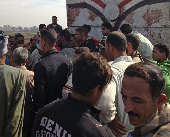 Mideast Egypt Train Accident