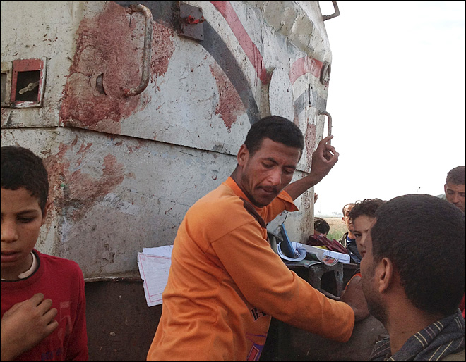 Egypt: Train hits school bus; 49 children killed