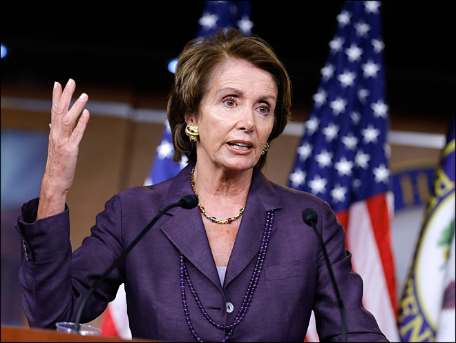 Pelosi says no budget deal without tax rate hikes