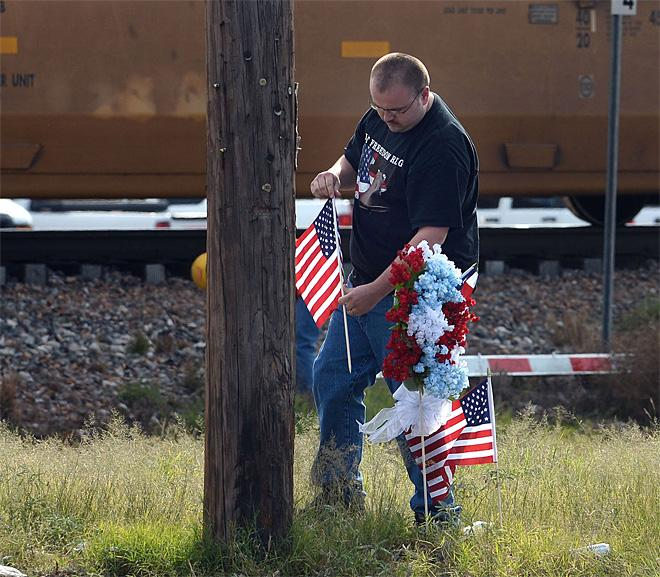 Veterans Parade Train Crash