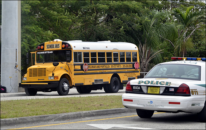 13-year-old girl shot dead on Miami school bus