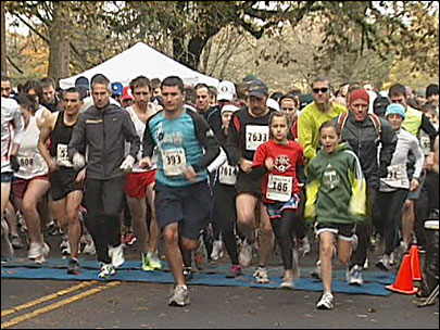 On your mark, get set... GOBBLE! Third annual Turkey Trot