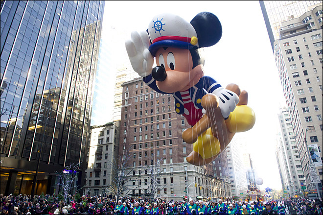 Thanksgiving parade brings cheer to storm-hit NYC