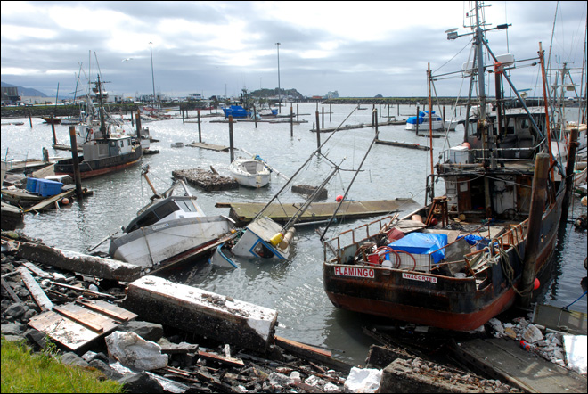 Calif. city building a 'tsunami-resistant' port