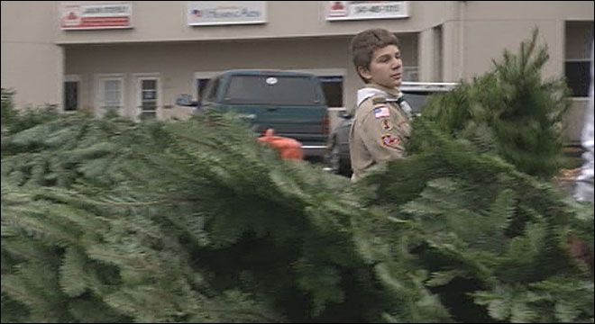 Boy Scout tree sales start around town