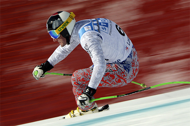 APTOPIX Canada World Cup Downhill Skiing