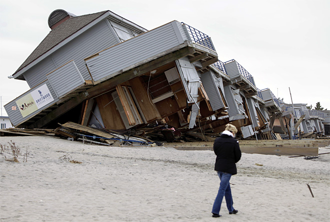 Should worst-flooded areas be left after Sandy?