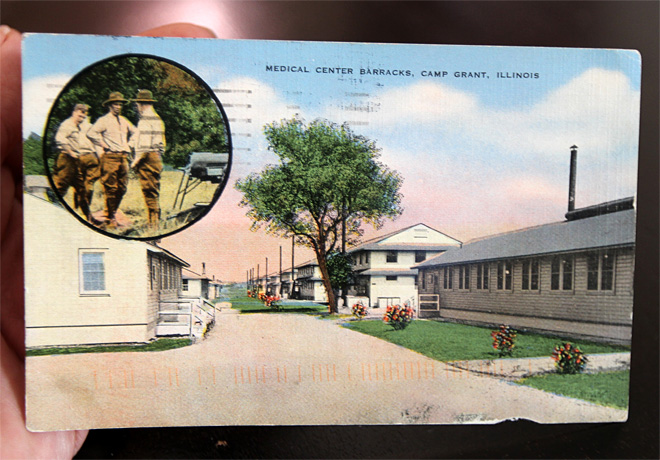Postcard mailed during WWII arrives at N.Y. home