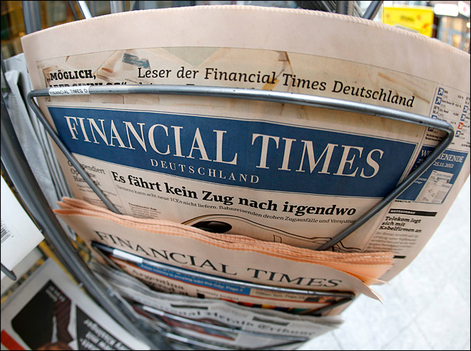 Publisher shuts Financial Times' German offshoot