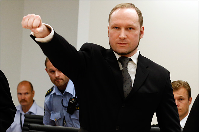Norway mass killer criticizes prison conditions