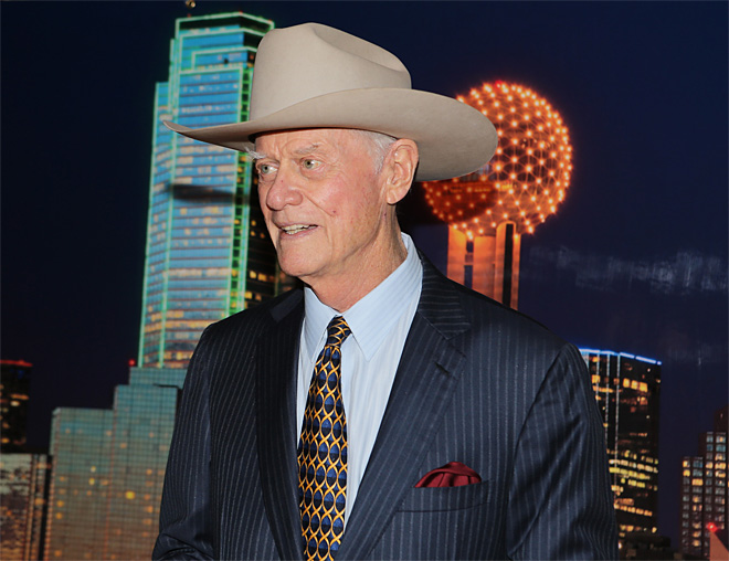 Larry Hagman