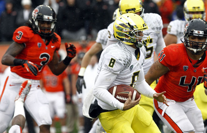 Marcus Mariota to play in 1st bowl game
