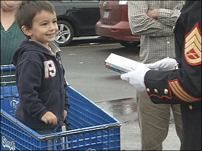 Toys For Tots donation drive: 'Every kid deserves a Christmas'