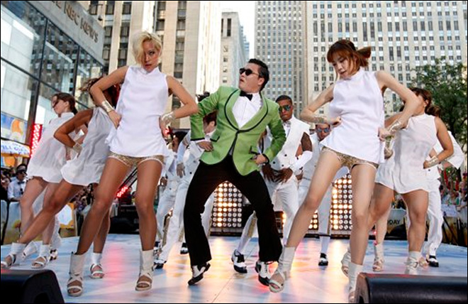 'Gangnam Style' most watched YouTube video ever