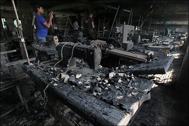 Disney, Sears used Bangladesh factory that burned, killing 112