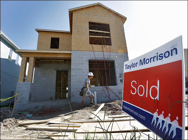 US new home sales jump to highest in 2 1/2 years