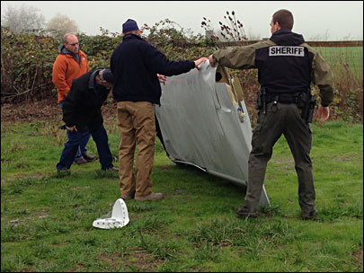 Federal investigators arrive at scene of fatal plane crash