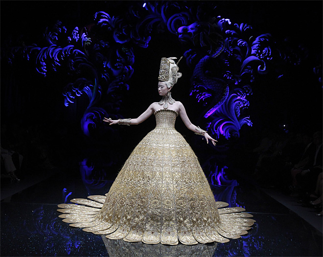 APTOPIX Singapore Asian Couture