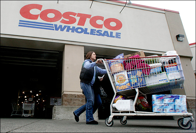 Costco key revenue metric rises 4 percent in March